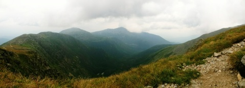 Panorama of Mt washington